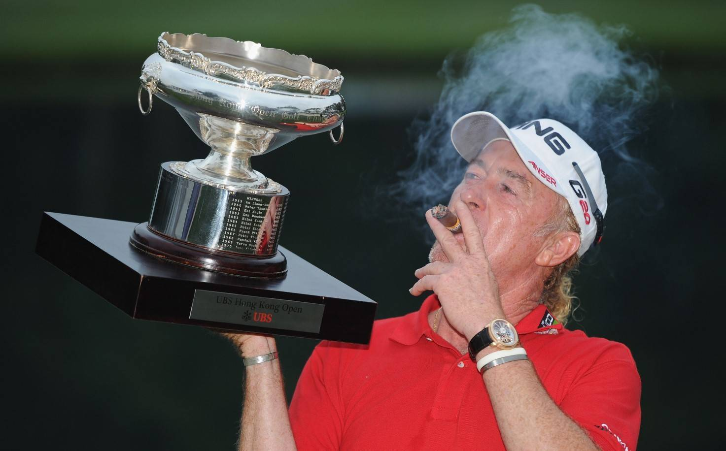Miguel Angel Jimenez cigar
