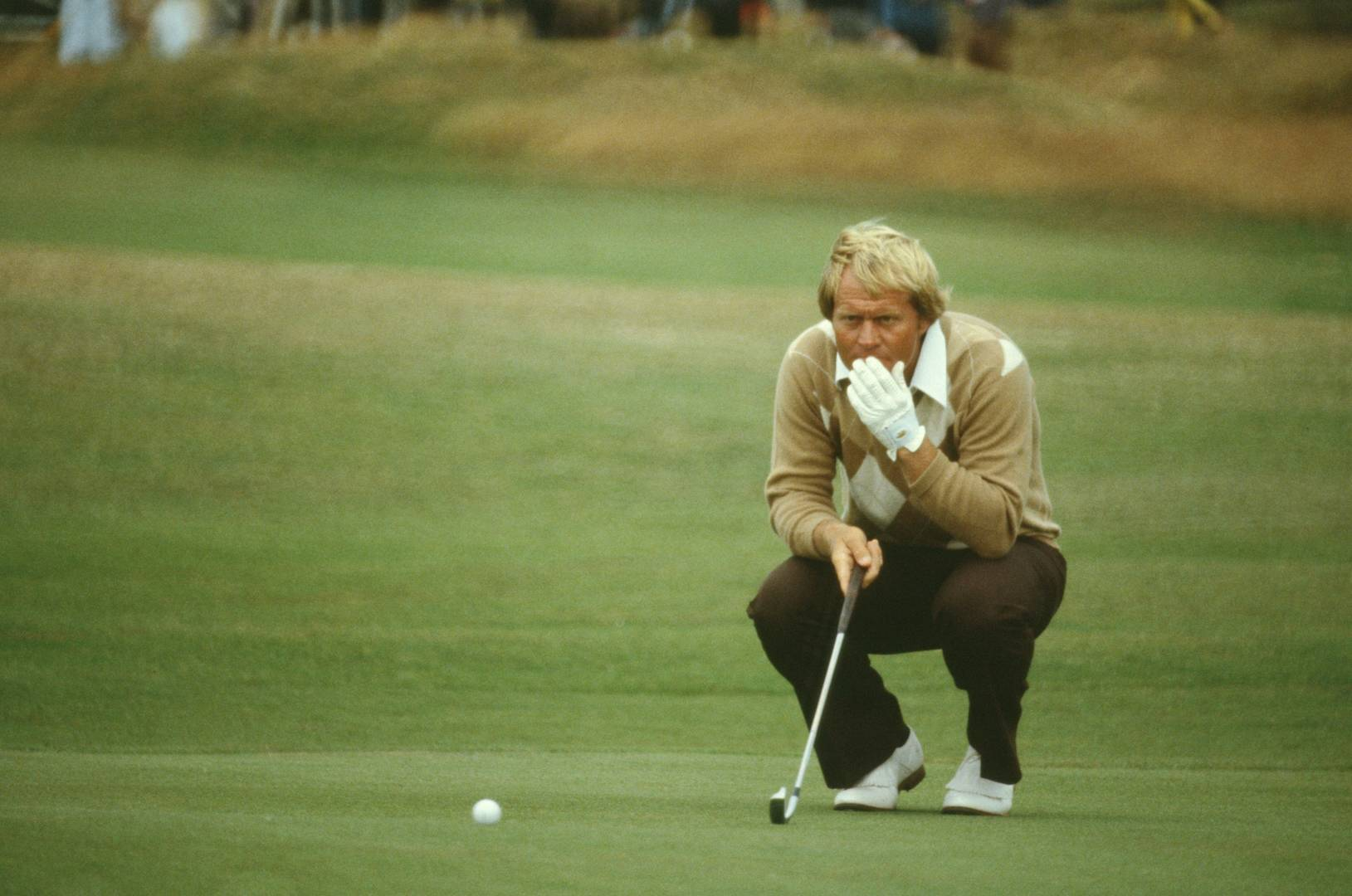 Jack Nicklaus at The Open in 1979