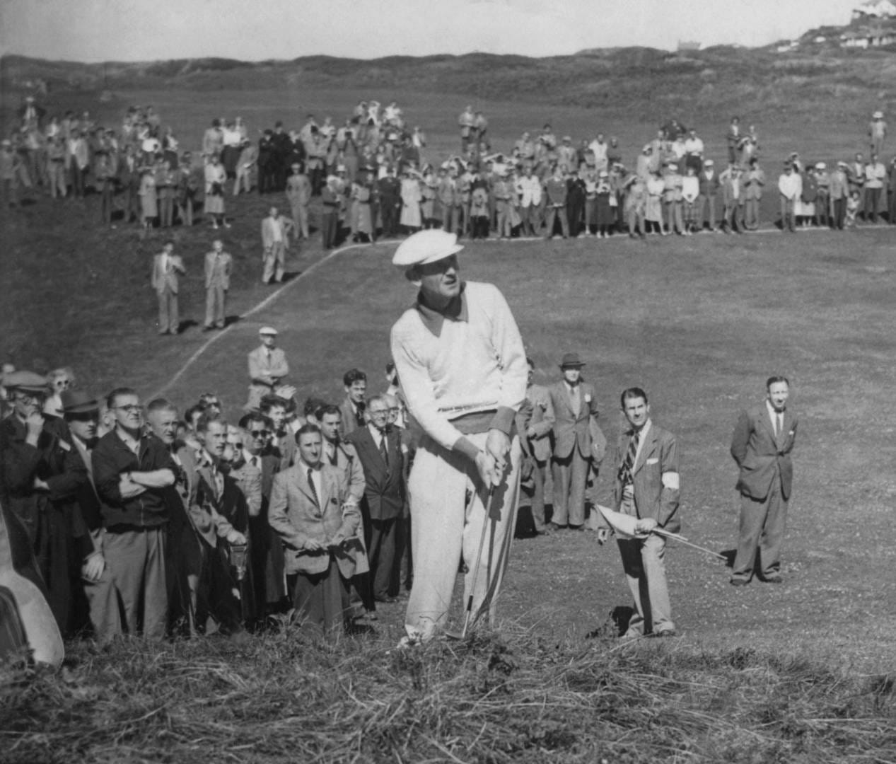Norman Von Nida at the 1951 Open Championship